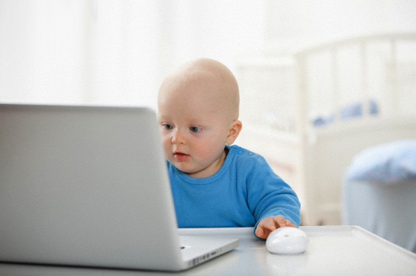 Половина шведских трёхлеток уже в онлайне